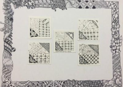 4.17.17 E Street Basic Zentangle Mosaic