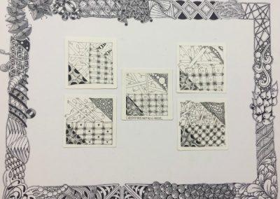 4.17.17 E Street Basic Zentangle Mosaic