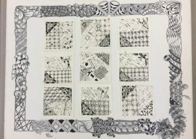 4.8.17 Mariandale Zentangle Mosiac