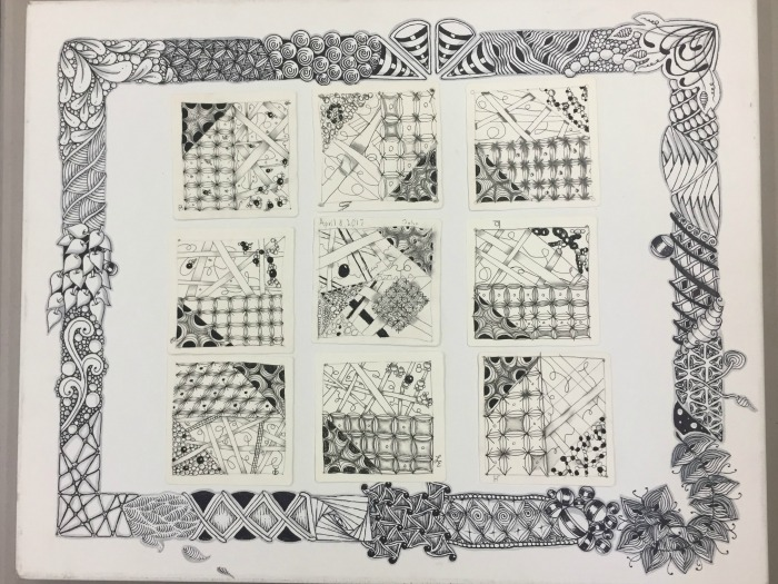 Student Gallery Zentangle Artworks