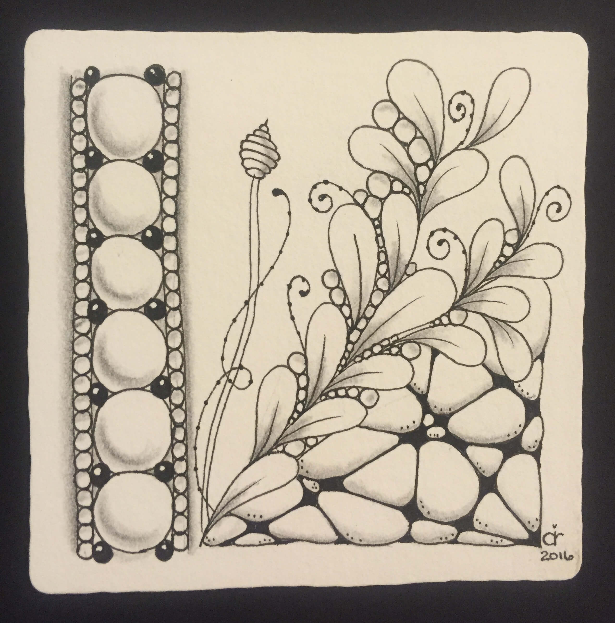 Cari Camarra, Zentangle